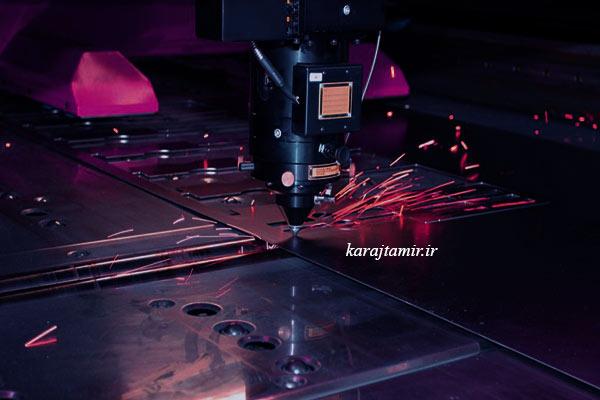 مدل های برش لیزر فلزات